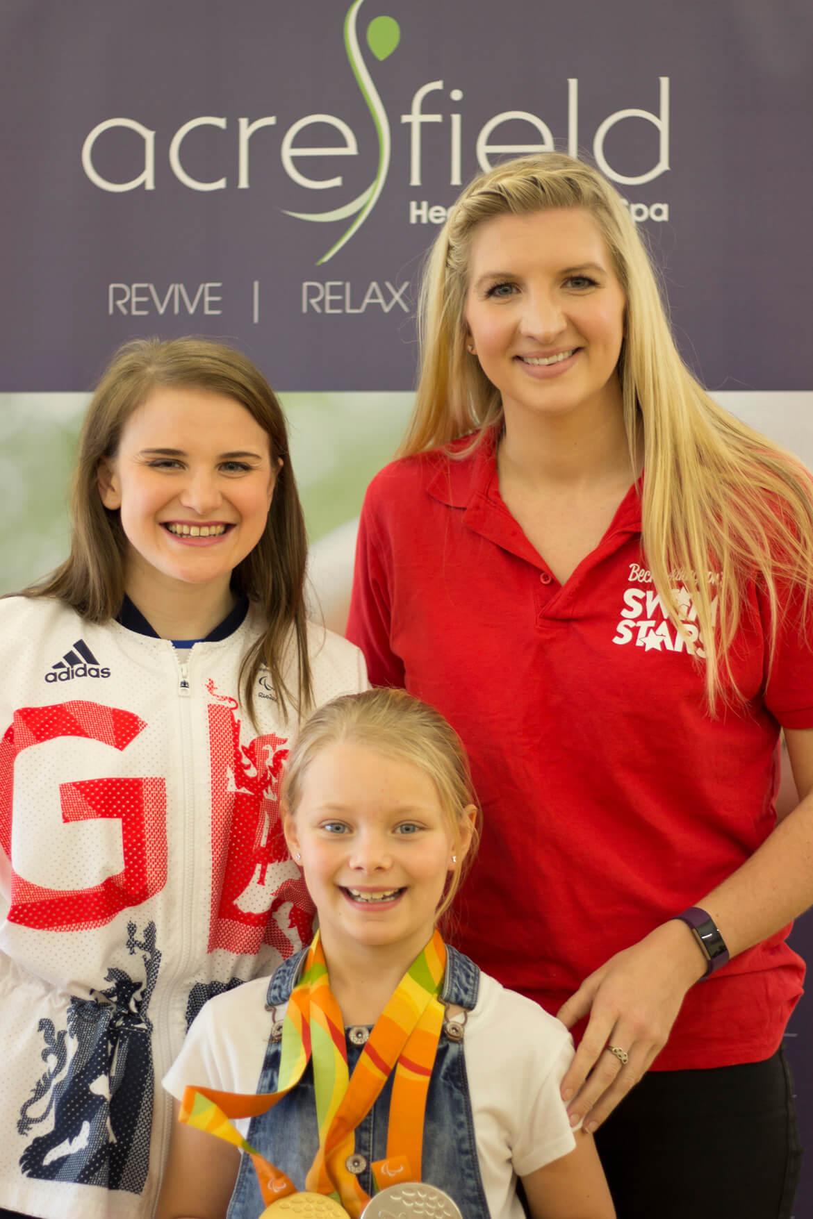 Olympic medalist Rebecca