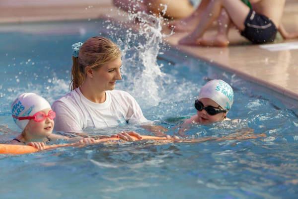 Swimming class