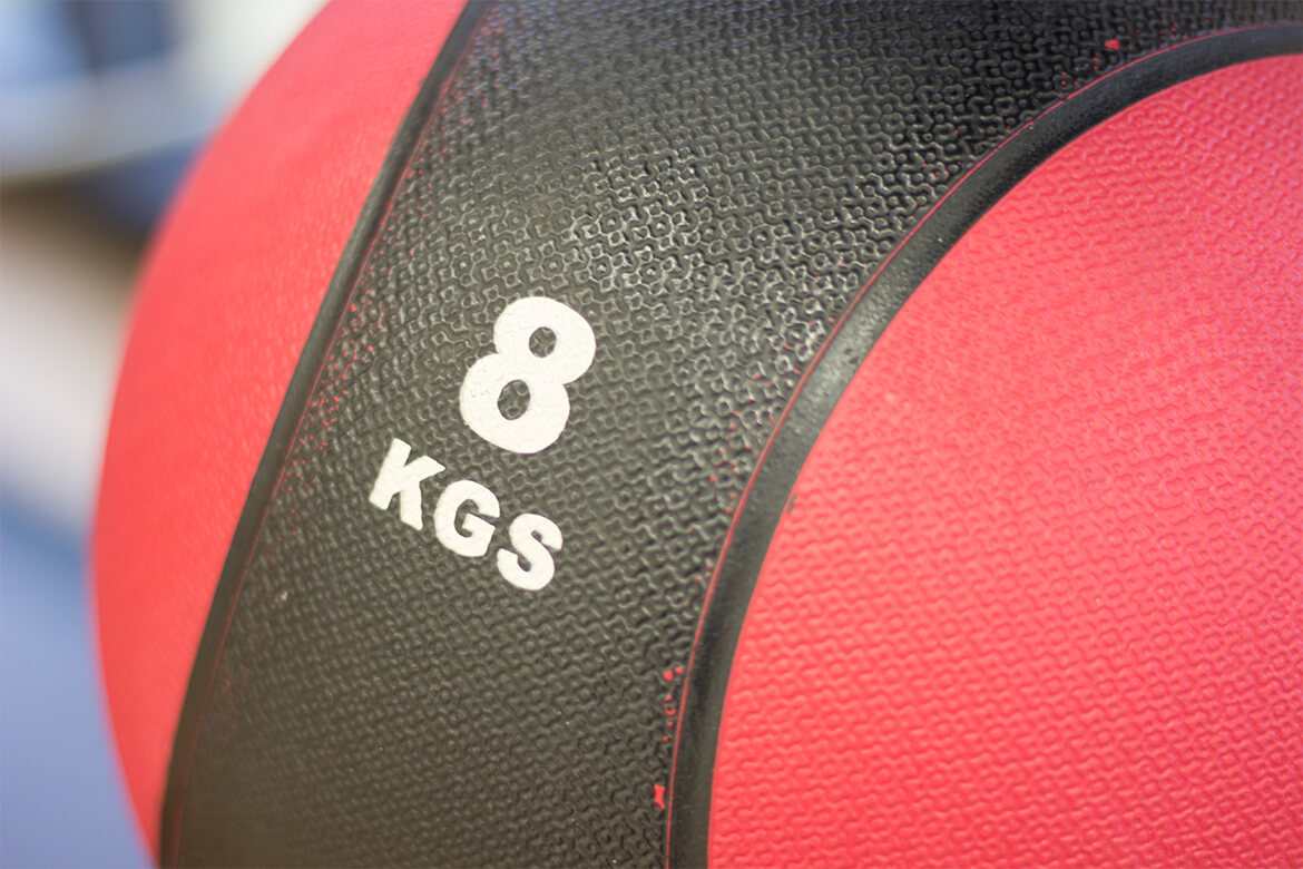 Red weight ball