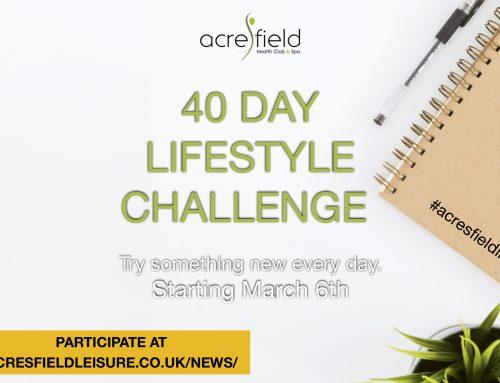 40 Day Lifestyle Challenge