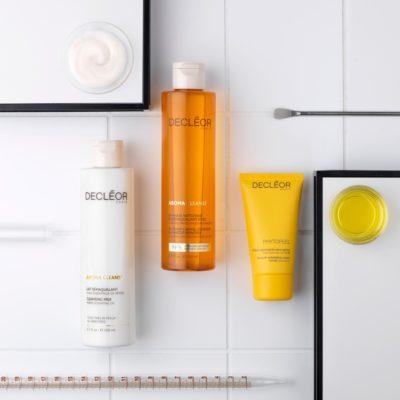 Decleor skin care