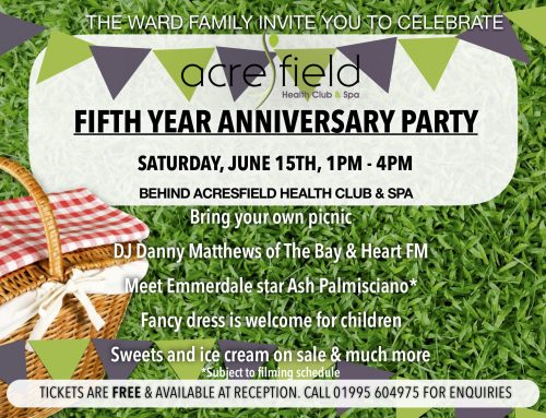 Acresfield's Fifth Year Anniversary Party