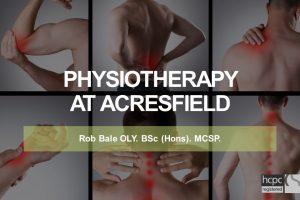 Rob Bale physio