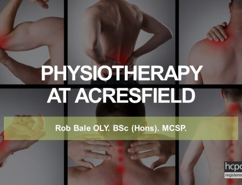 Physiotherapy Clinic at Acresfield