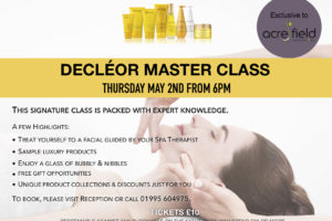 Decleor Master Class