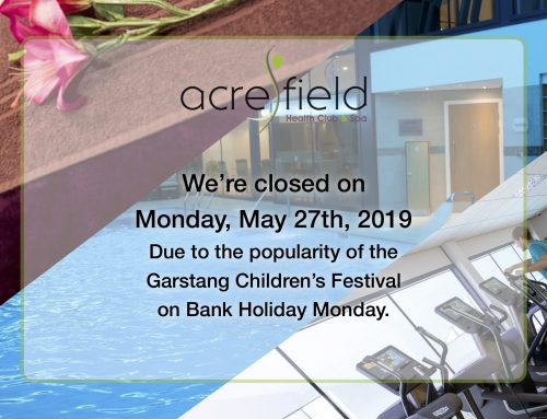We're closed on Monday May 27th