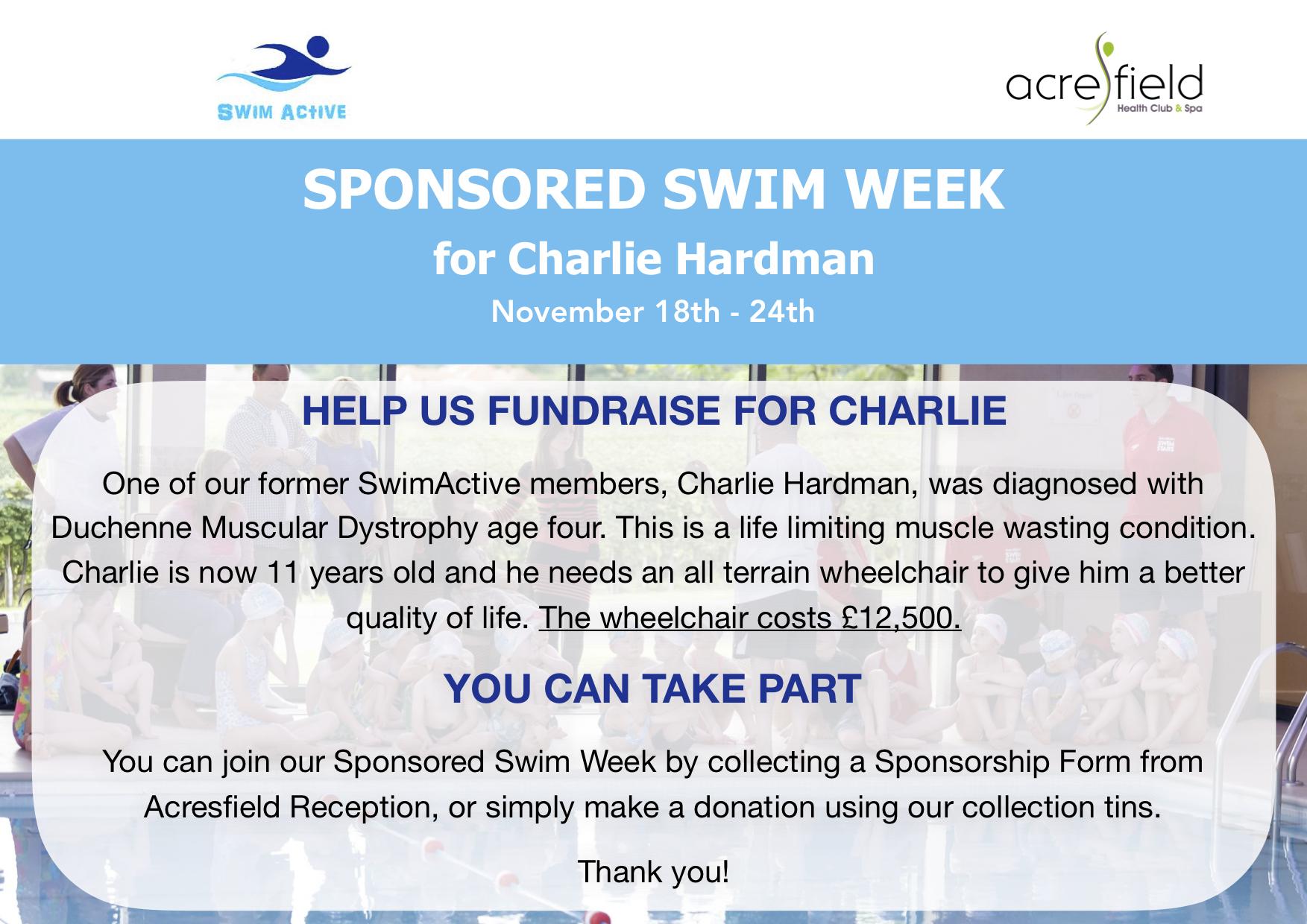 Sponsored swim week